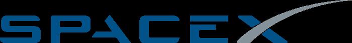 SpaceX logo, blue (Space X)