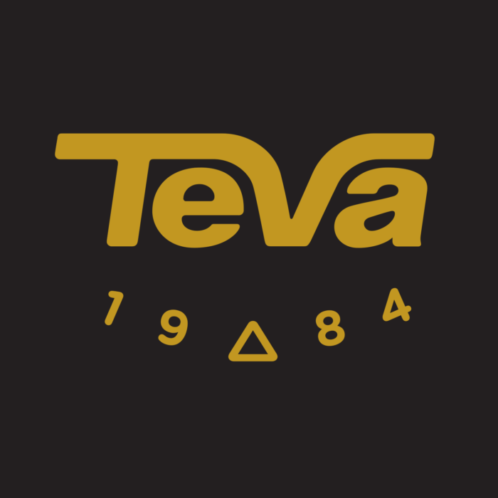 Teva logo (shoes, boots)