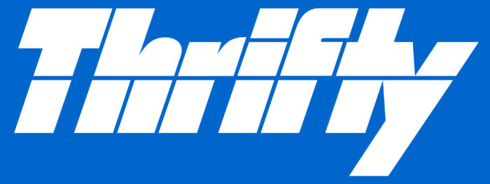 Thrifty Car Rental logo, logotype