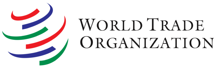 WTO logo, text, wordmark (World Trade Organization)
