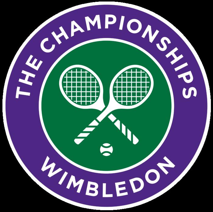 Wimbledon logo, emblem, symbol