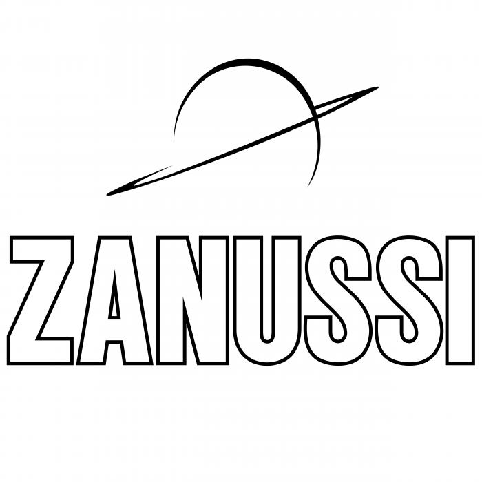 Zanussi logo white