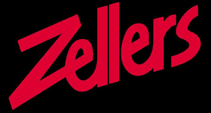 Zellers logo, logotype
