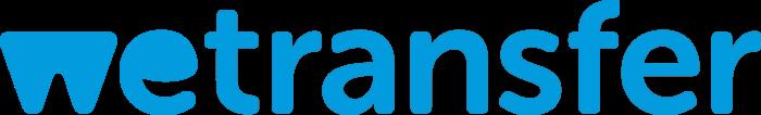 WeTransfer logo, logotype (we transfer)