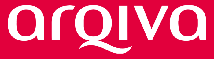 Arqiva logo, pink