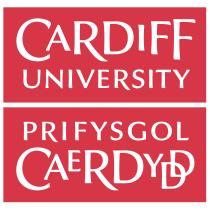 Cardiff University logo, crest