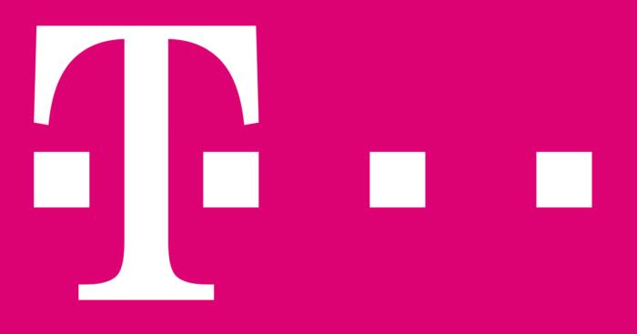 Deutsche Telekom logo, pink