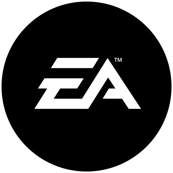 EA logo, black