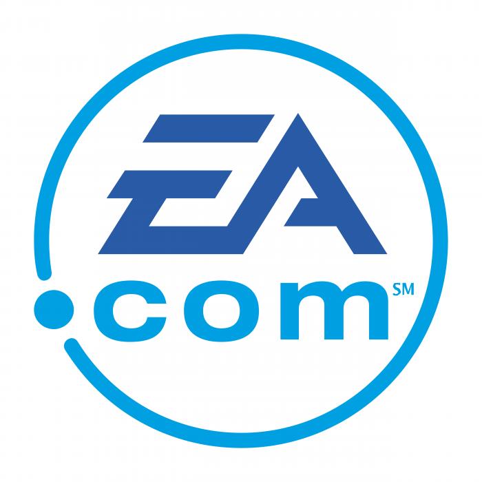 EA logo com