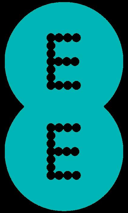 EE logo, blue