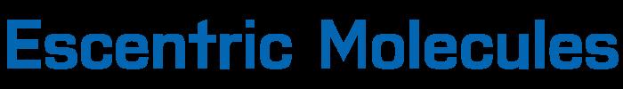 Escentric Molecules logo, logotype