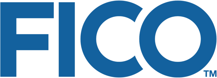 FICO logo, logotype