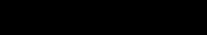 Fashionista logo, wordmark, black