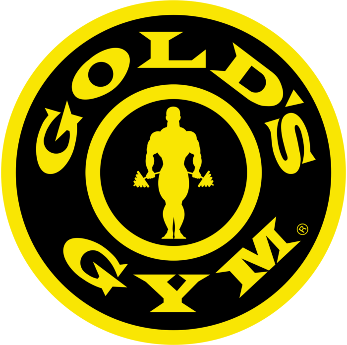 Gold's Gym logo, logotype