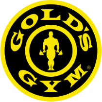 Gold's Gym logo, logotype