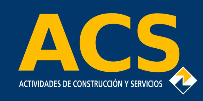 Grupo ACS logo, logotype