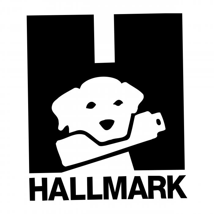 Hallmark logo black