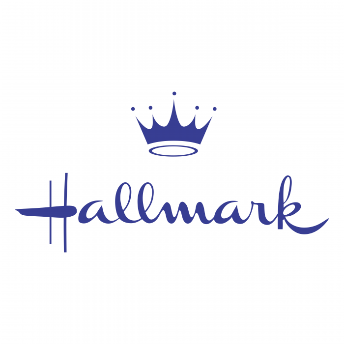 Hallmark logo blue