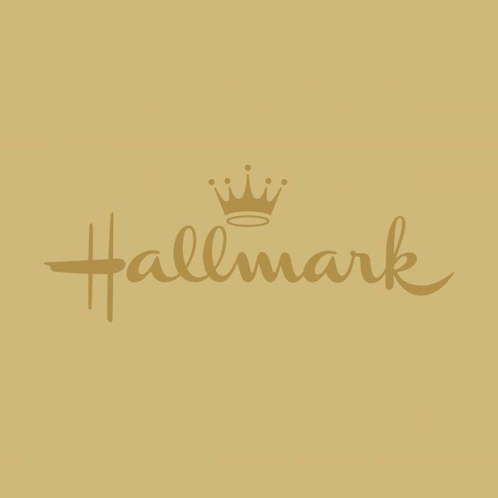 Hallmark logo gold