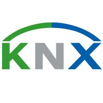 KNX logo, logotype
