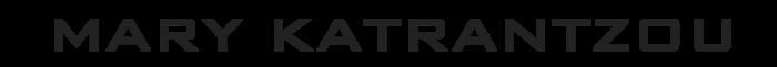 Mary Katrantzou logo, logotype