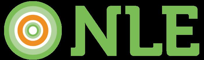 NLE logo, logotype