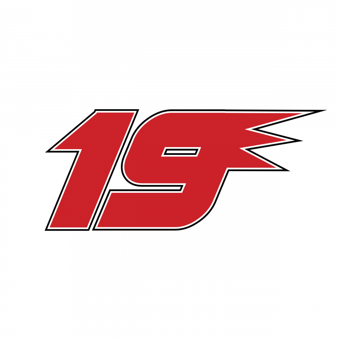 Nascar Jeremy Mayfield logo 19