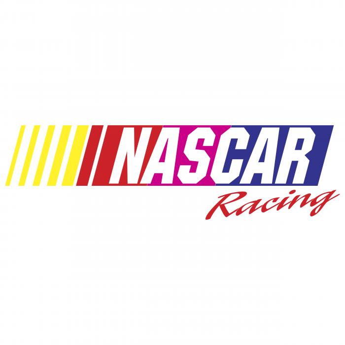 Nascar logo racing