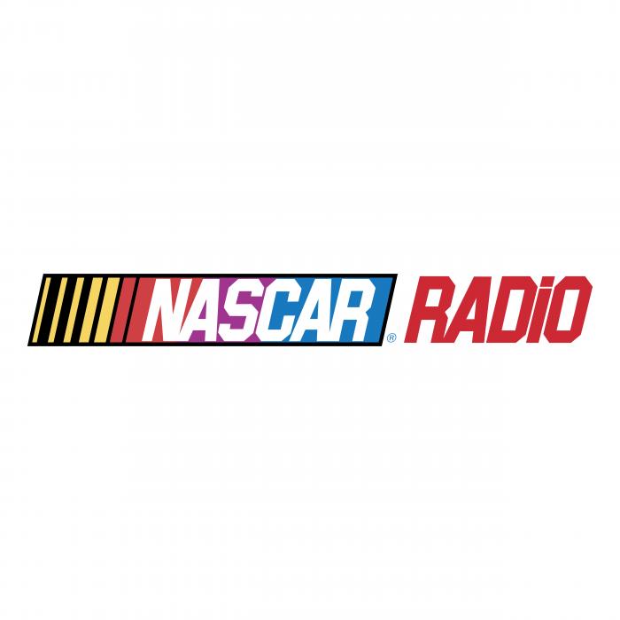 Nascar logo radio