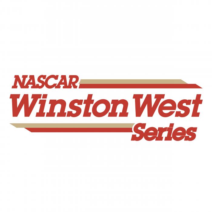 Nascar logo winston west