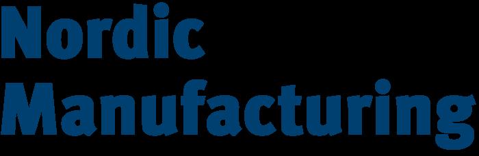 Nordic Manufacturing logo, logotype