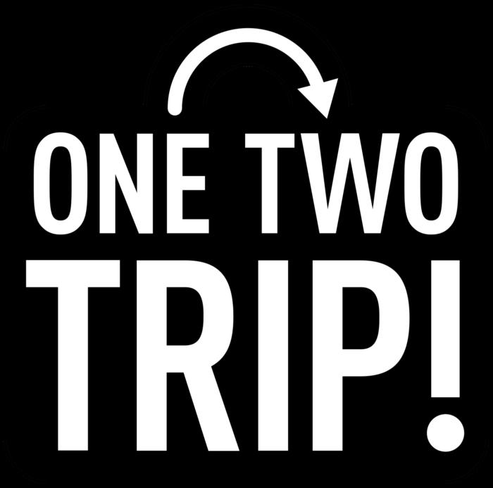 OneTwoTrip logo, logotype