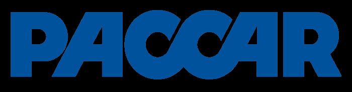 PACCAR logo, blue