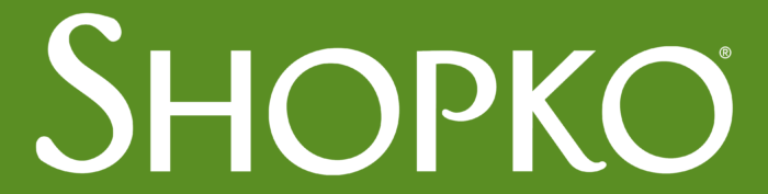 Shopko logo, green