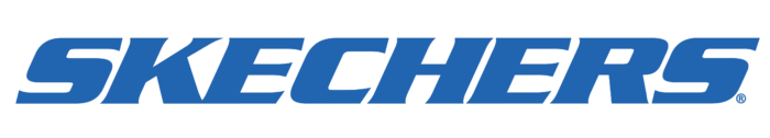 Skechers logo, blue
