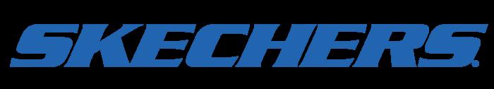 Skechers logo, blue