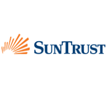 SunTrust Bank logo, logotype