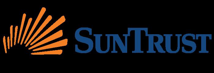 SunTrust Bank logo, logotype