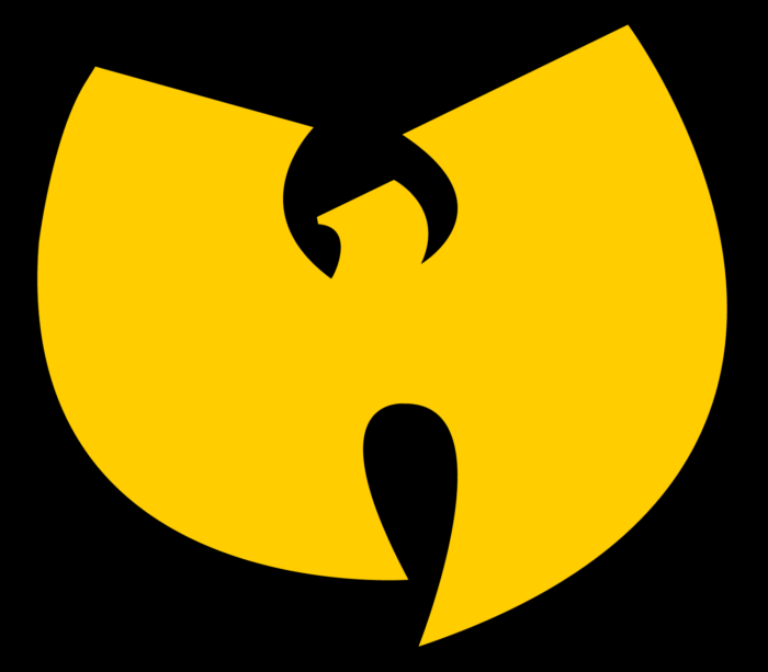 Wu-Tang Clan logo, yellow-black