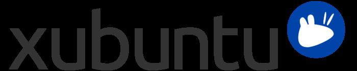 Xubuntu logo, wordmark