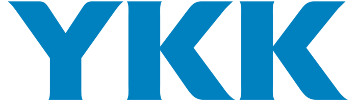 YKK logo, logotype