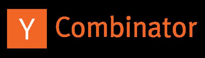 Y Combinator logo, text, wordmark