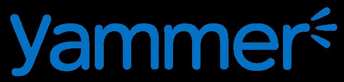 Yammer logo, logotype