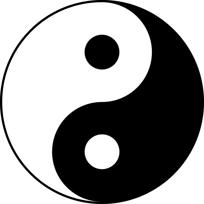 Yin and Yang image, picture, logo