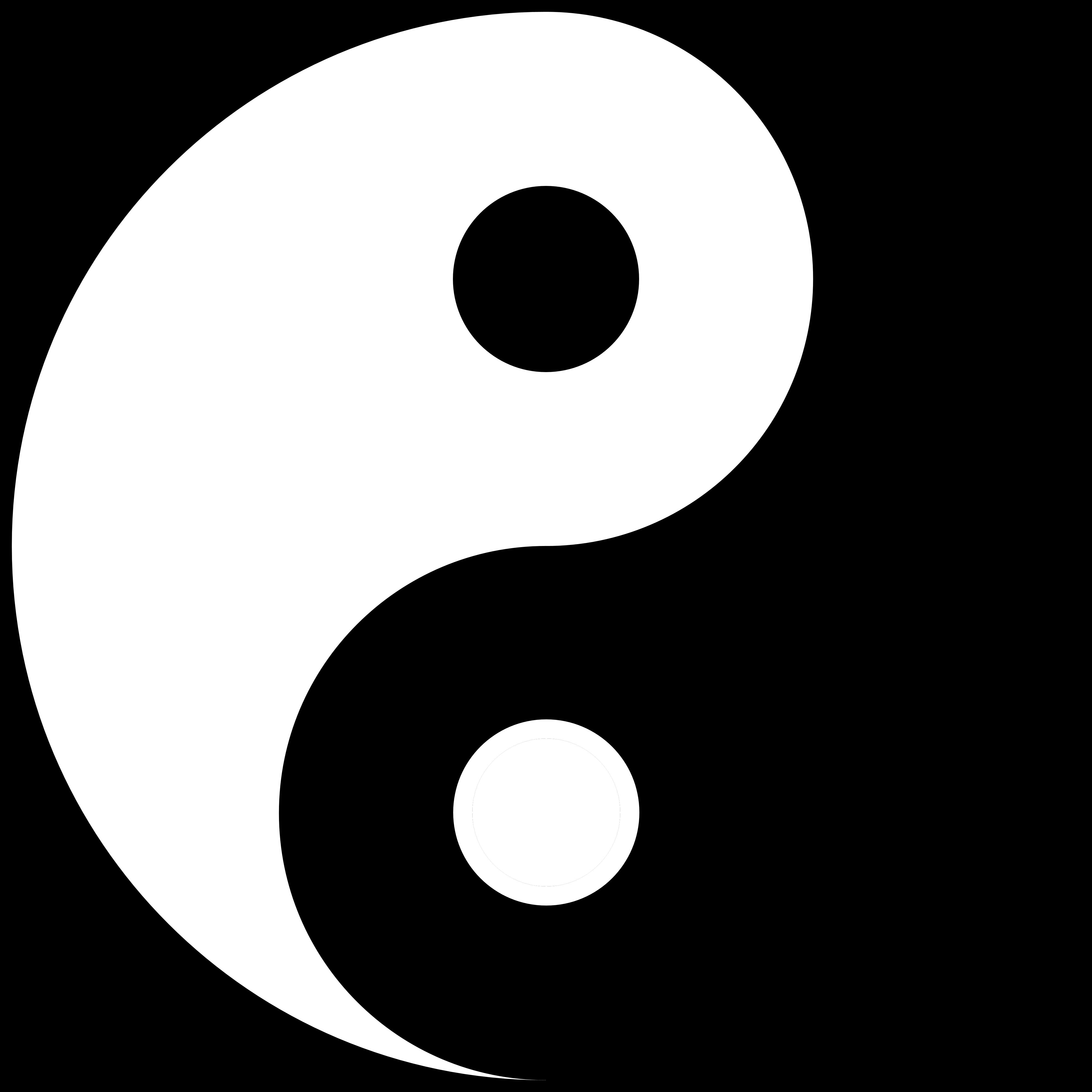 Символ инь и янь картинка