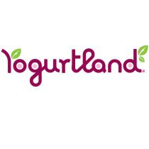 Yogurtland logo, logotype