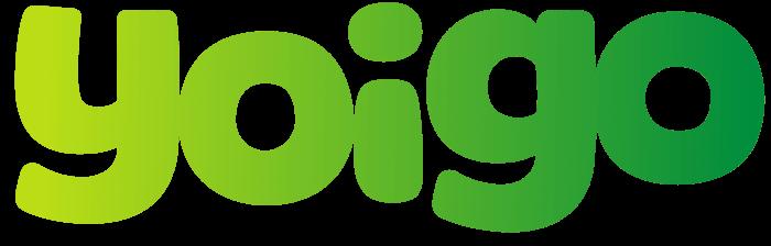 Yoigo logo, logotype, green