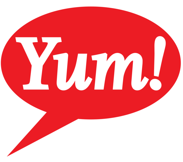 Yum logo, logotype, symbol