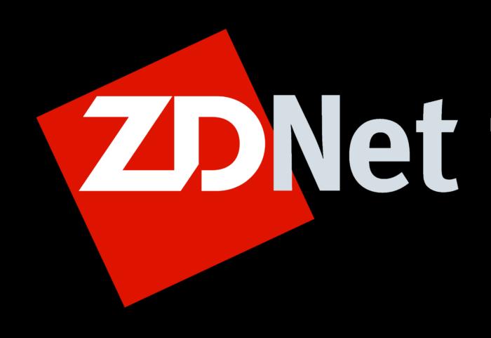 ZDNet logo, logotype