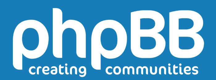 phpBB logo, blue